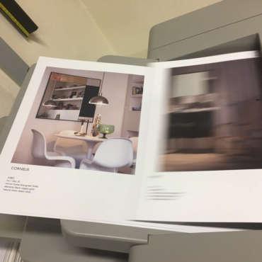 Stampa Brochure piegata e spillata
